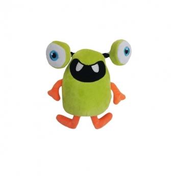 Koiran lelu Bark-a-Boo HocusPocus PullThru hirviö vihreä (23 cm)