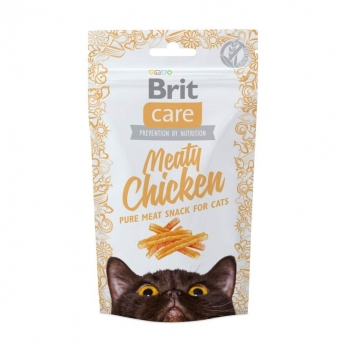 Kissanherkku Brit Care Meaty kana 50g