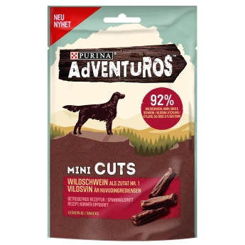 Makupala Adventurous Mini Cuts viljaton, 7 x 70 g