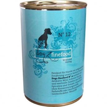 Dogz Finefood N°12 riista & silli (400 g)