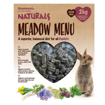 Meadow Menu Rabbit Rosewood, 2 kg