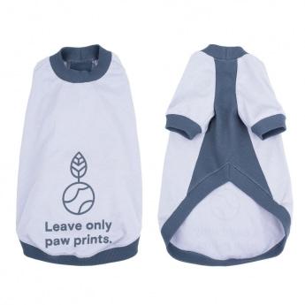 Koiran T-paita Gaia Organic harmaa