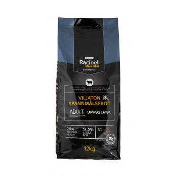 Racinel Black Label Adult Lamb 12kg