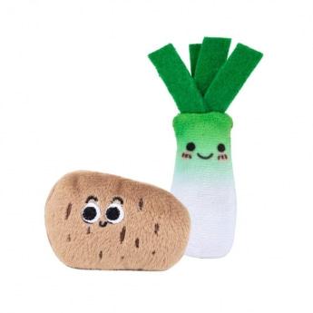 Kissanlelu Little&Bigger MiniVeggies purjo & peruna