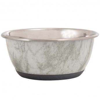Teräskuppi marmorikuvioinnilla 13 cm 500 ml