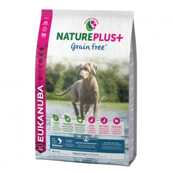 Eukanuba NaturePlus+ Puppy Salmon GF