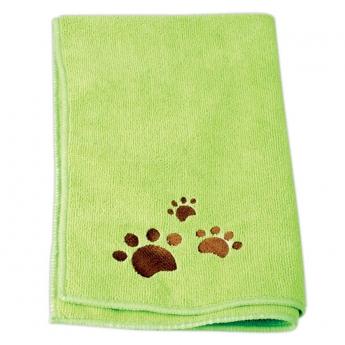 Mikrokuitupyyhe Ideal Dog 2 kpl, vihreä
