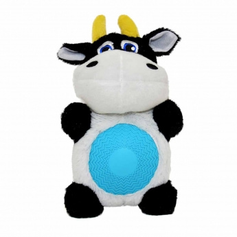 Pehmolelu Duvo +, lehmä vinkumahalla