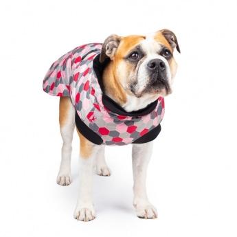 Koiran talvitakki Basic Arctic pinkki