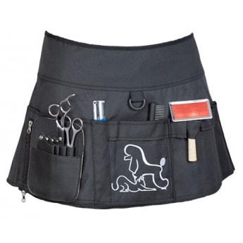 Tarvikevyö trimmaajalle Ideal Dog, musta
