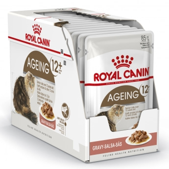 Royal Canin Ageing +12 Gravy, 12x85g