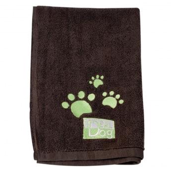 Mikrokuitupyyhe Ideal Dog 2 kpl, ruskea