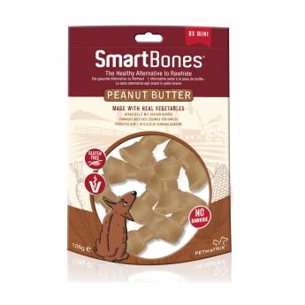 Smartbones Maapähkinävoi Mini 8 kpl