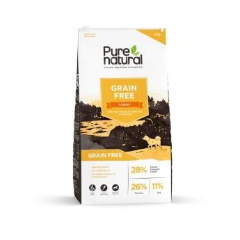 Purenatural Adult Dog Grain Free Turkey (2 kg)