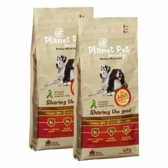 Planet Pet Large Breed Adult 2 x 15kg