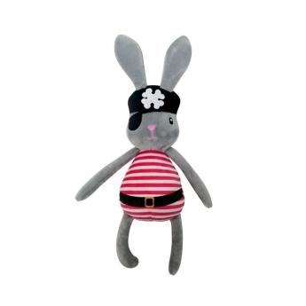 Koiran pehmolelu Bark-a-Boo Spooky Pirate Bunny