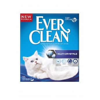 Kissanhiekka Ever Clean Multi-Crystals, 10 l