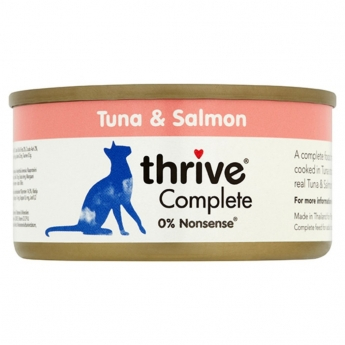 Thrive Complete Tonnikala ja Lohi 75g