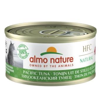 Almo Nature HFC -kissan märkäruoka, Tyynenmeren tonnikala 70 g