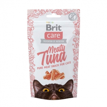 Kissanherkku Brit Care Meaty tonnikala 50g