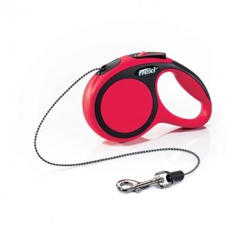 Flexi New Comfort Cord XS, 3 m / 8 kg (Punainen)