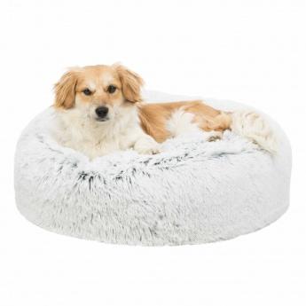 Koiran pörröpeti Harvey valkoinen 100cm