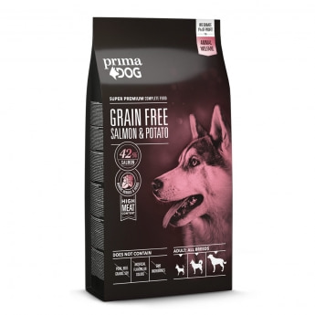 PrimaDog Grain Free Salmon & Potato 10 kg