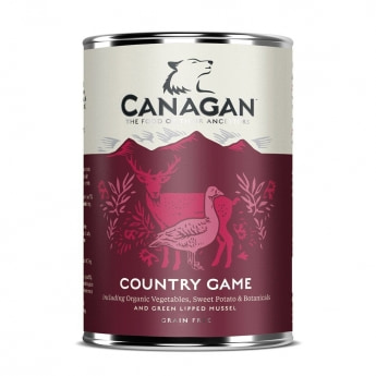 Canagan Country Game riista & ankka 400 g