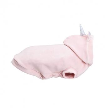 Koiran huppari Basic Unicorn, roosa