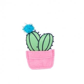 Kissan lelu Little&Bigger Fiesta&Siesta Kaktus vaaleanpunainen ruukku