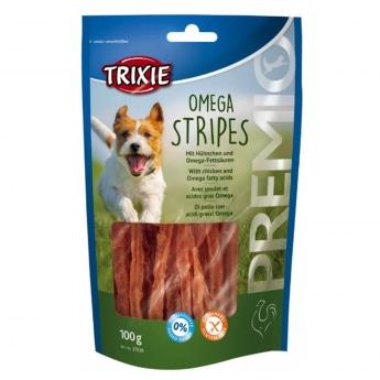Trixie Premio Omega Stripes, chicken