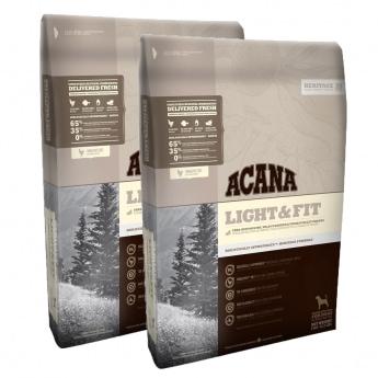 Acana Heritage Light & Fit 2 x 11,4 kg