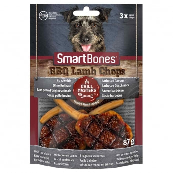 Smartbones BBQ lampaankyljys 3kpl 87g