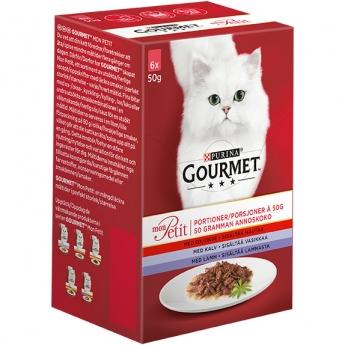 Gourmet Mon Petit Lajitelma 6x50g