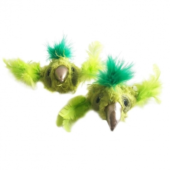 Kissanlelu Meow&Me JungleLuxe linnut 2-pack