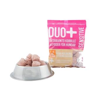 Mush DUO+ Sensitive kalkkuna-kana, 1 kg