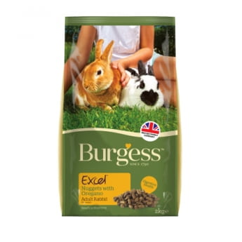 Burgess Excel Rabbit Adult Oregano, 2 kg