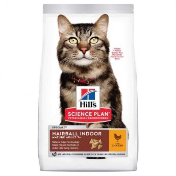 Hill's SP Feline Mature 7+ Hairball Indoor Chicken