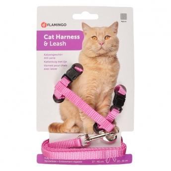 Kissan valjassetti Flamingo Sport, pink.