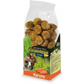 Jr Farm Grainless Drops Porkkana, 140 g