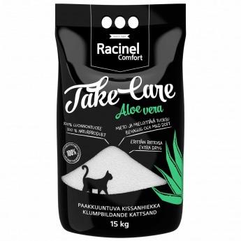 Kissanhiekka Racinel Take Care Aloe Vera, 15kg