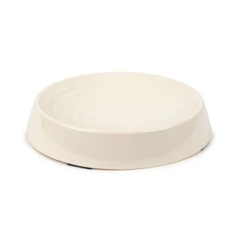 Little&Bigger Melamiinikuppi Ripple ovaali cream