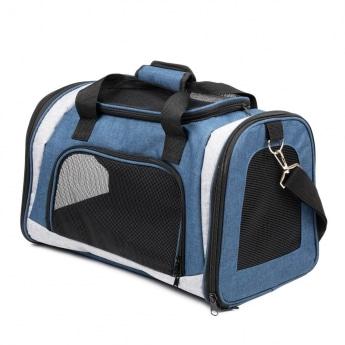 Kantolaukku Basic Traveller sininen
