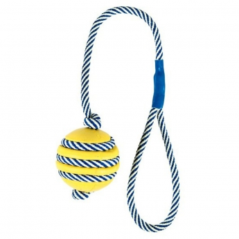 Koiran lelu Trixie Ball with rope