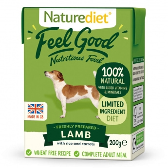 Naturediet Feel Good lammas (200 grammaa)