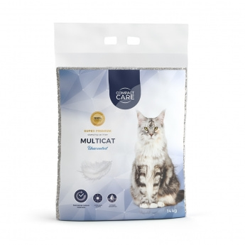 Compact Care Multicat Unscented 14 kg