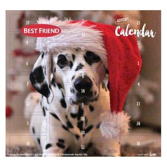 Joulukalenteri koiralle Best Friend, 360 g