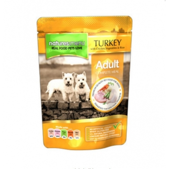 Natures:Menu Dog Kana & kalkkuna 300g