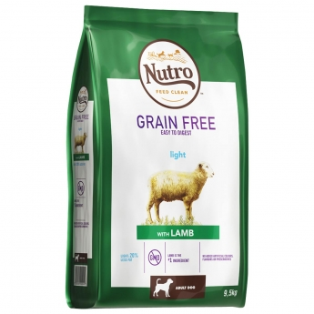 Nutro Grain Free Adult Standard Light Lamb 9,5 kg