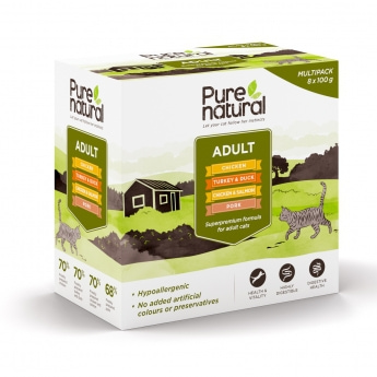 Purenatural Adult Multipack 8x 100g